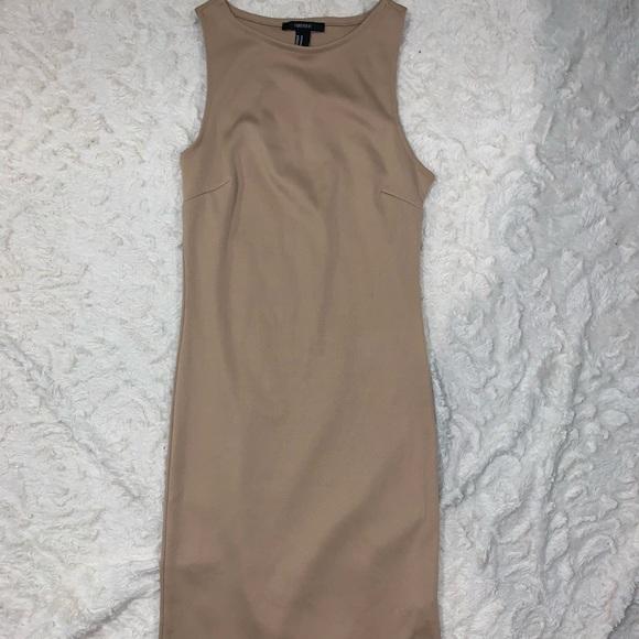 Forever 21 Dresses & Skirts - Forever 21 tan pencil dress